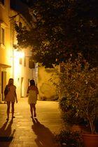 Nathaly Alexandra in der Nacht in Kroatien