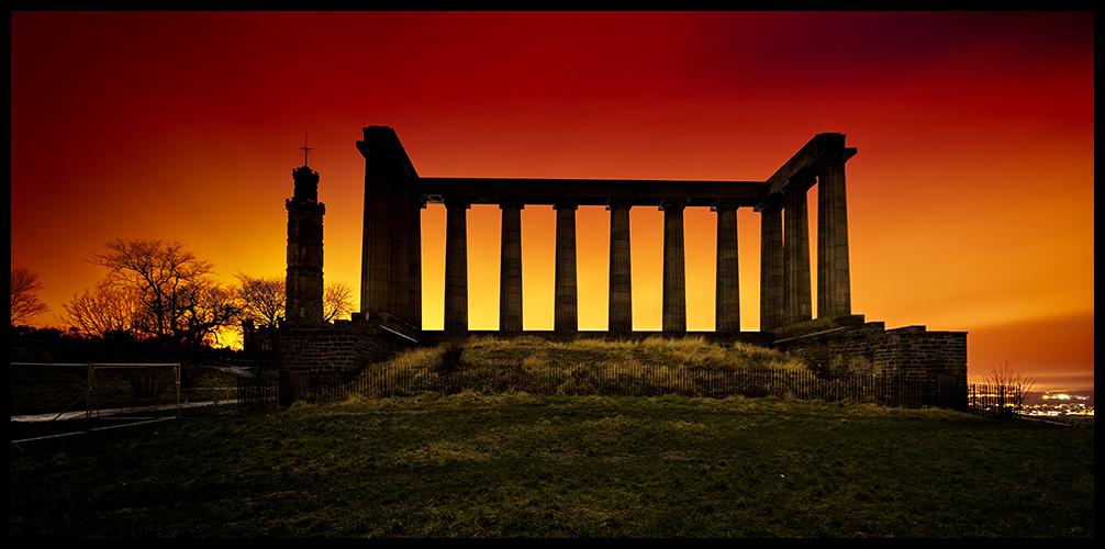 National Monument of Scotland, Edinburgh