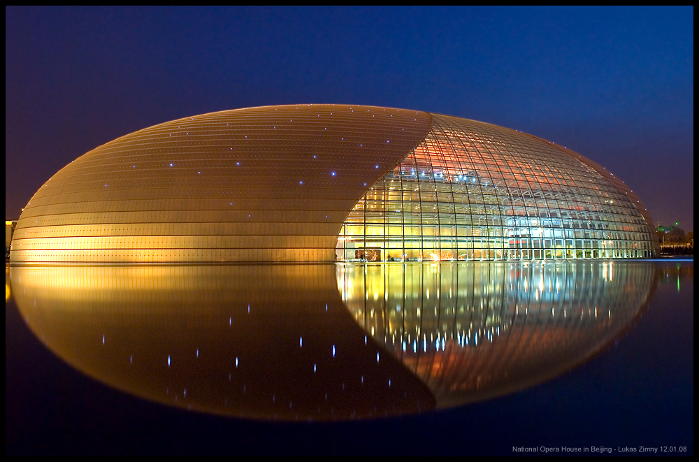 National Opera House in Beijing