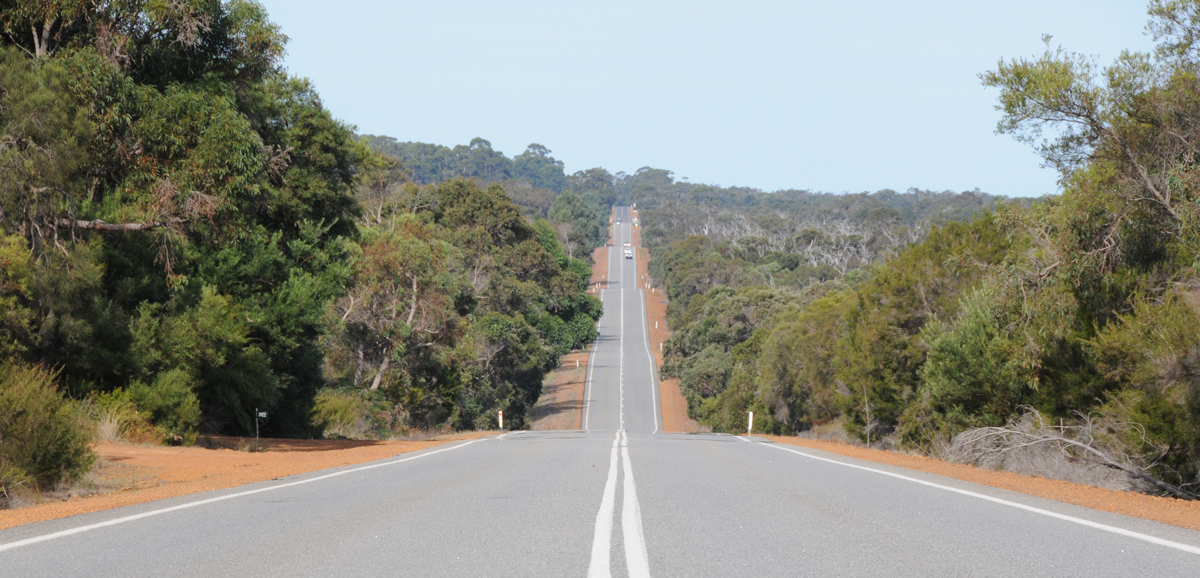national route 1 in West Australia