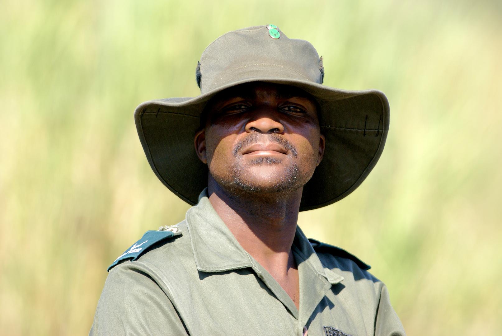 Nationalpark Angestellter Südafrika