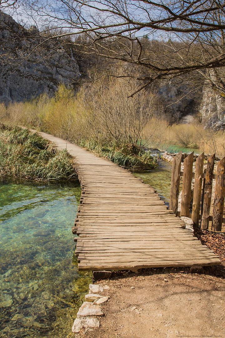 Nationalpark Plitvicer Seen - Steg II