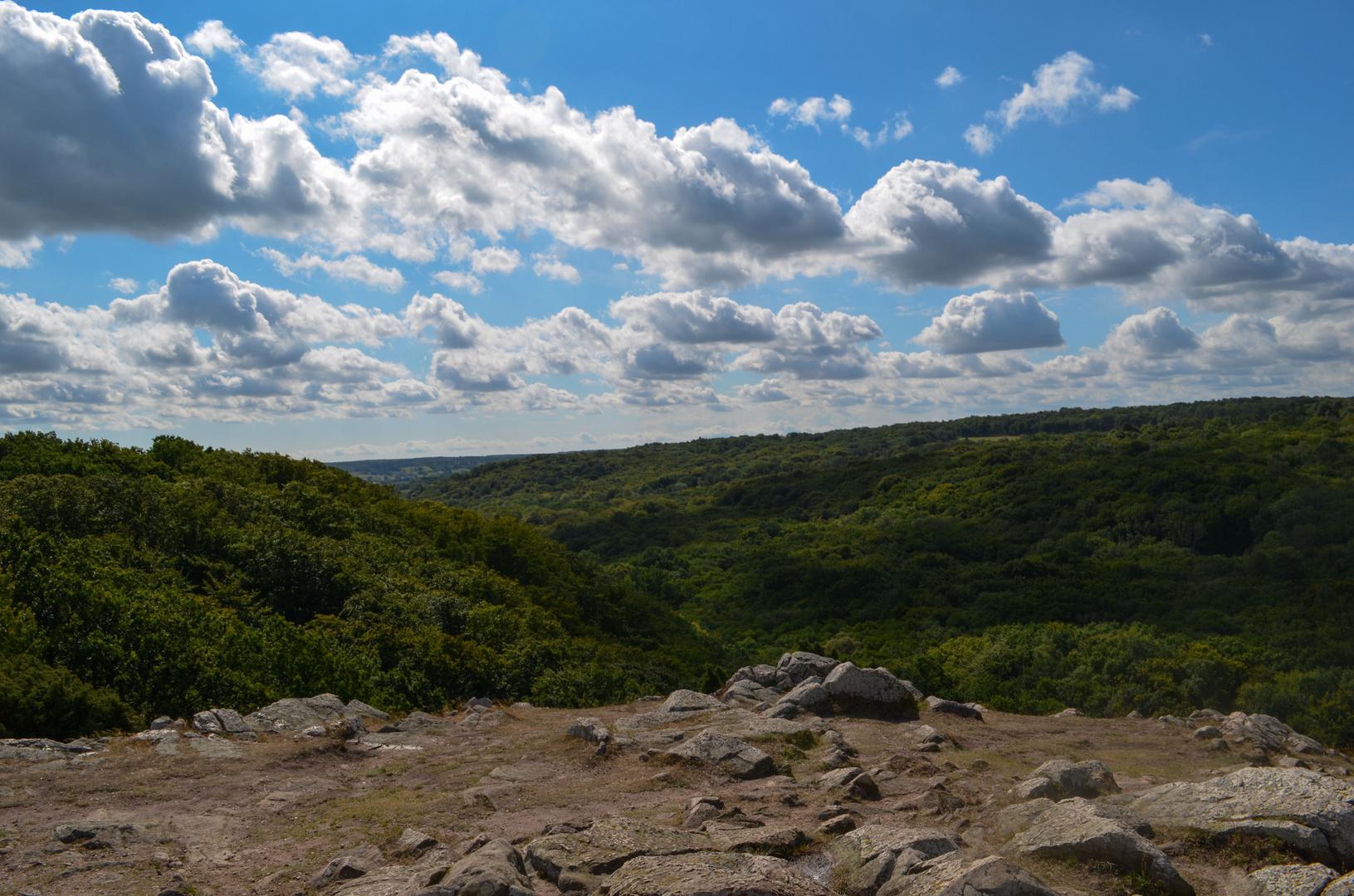 Nationalpark Stenshuvud vom Aussichtsgipfel
