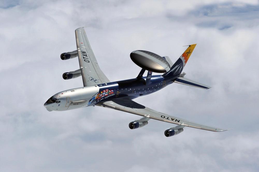 NATO AWACS 443 (Sonderlackierung)