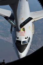 NATO E-3A AWACS NMT Air Refuling disdconnected