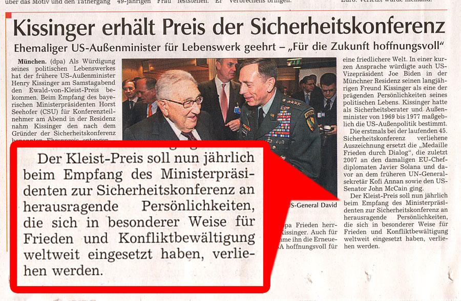 NATO Sicherheitskonferenz München 09