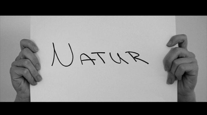 Natur in schwarz-weiss