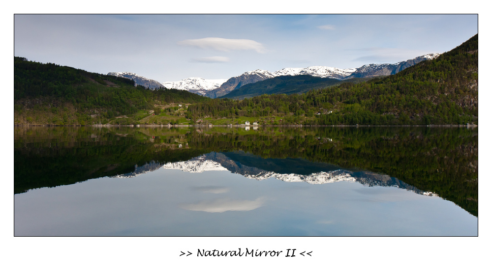 Natural Mirror II