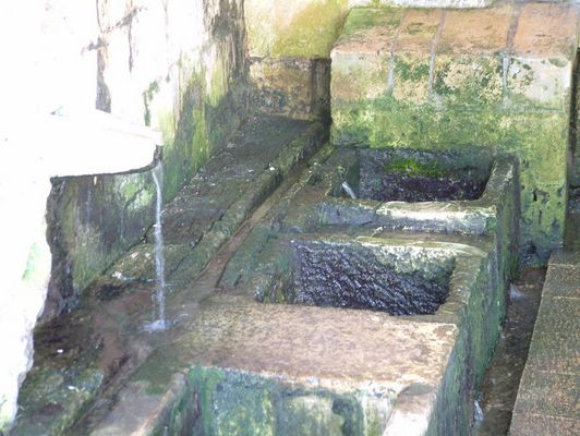 Natural Washing Basins in Gozo