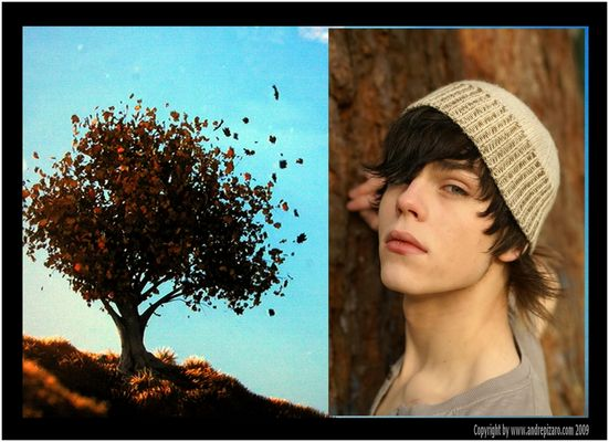 Nature-Emotions with Marc - Part IV - Collage - Copyright by André Pizaro 2009