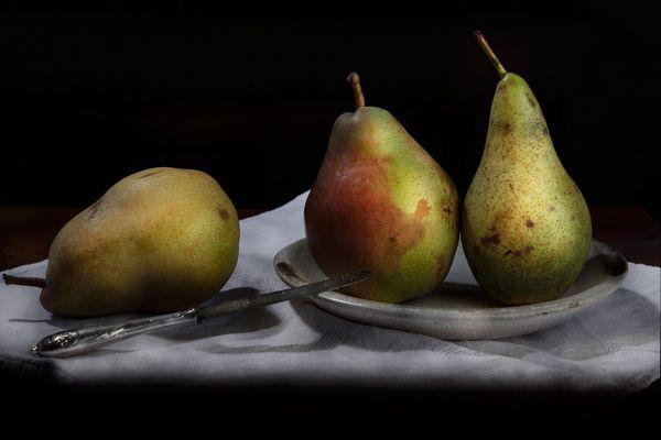 Nature morte aux 3 poires
