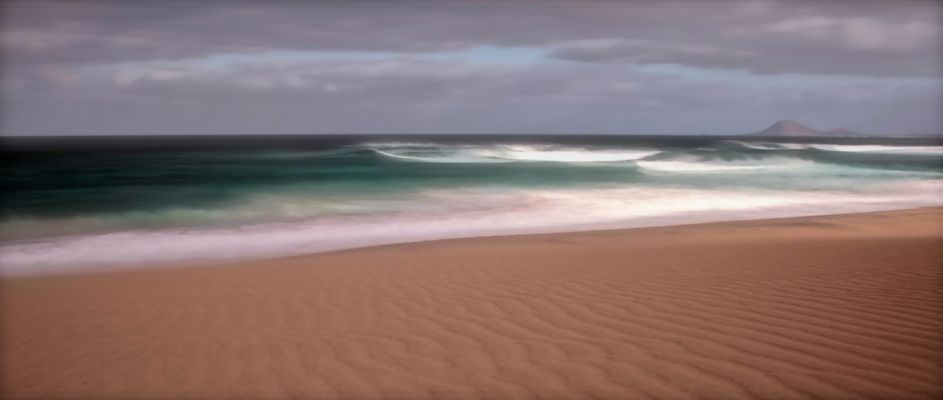 """Nature of the Cabo Verde Islands"" - Sand Dunes and Waves"