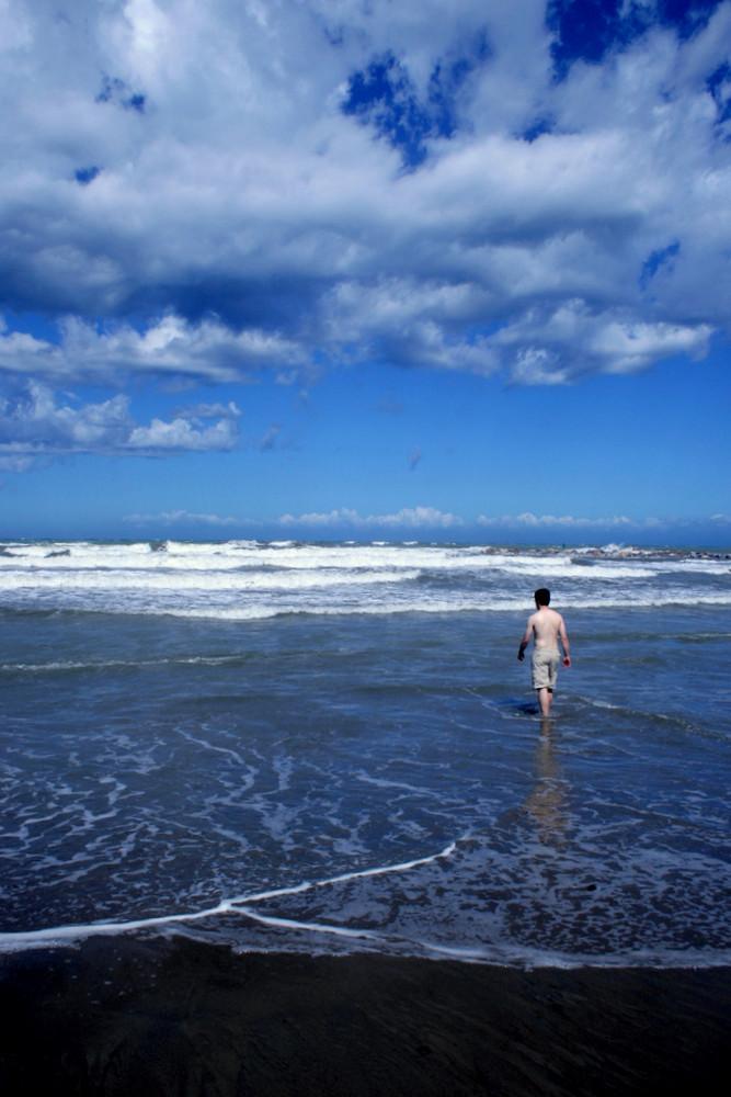 Naturgewalt Meer - Mensch