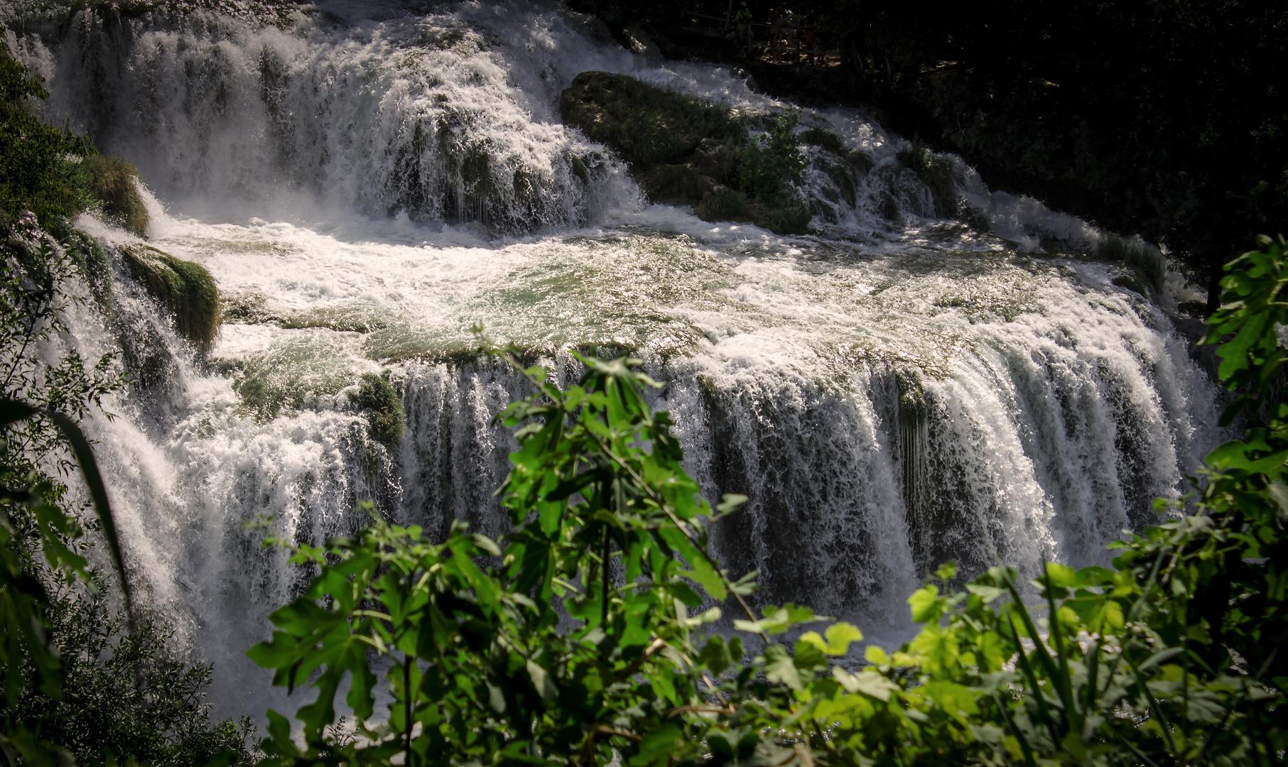 Naturpark Krka in Dalmatien bei Sibenik