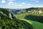 Naturpark Obere Donau (1); Blick vom Eichfelsen ins Donautal