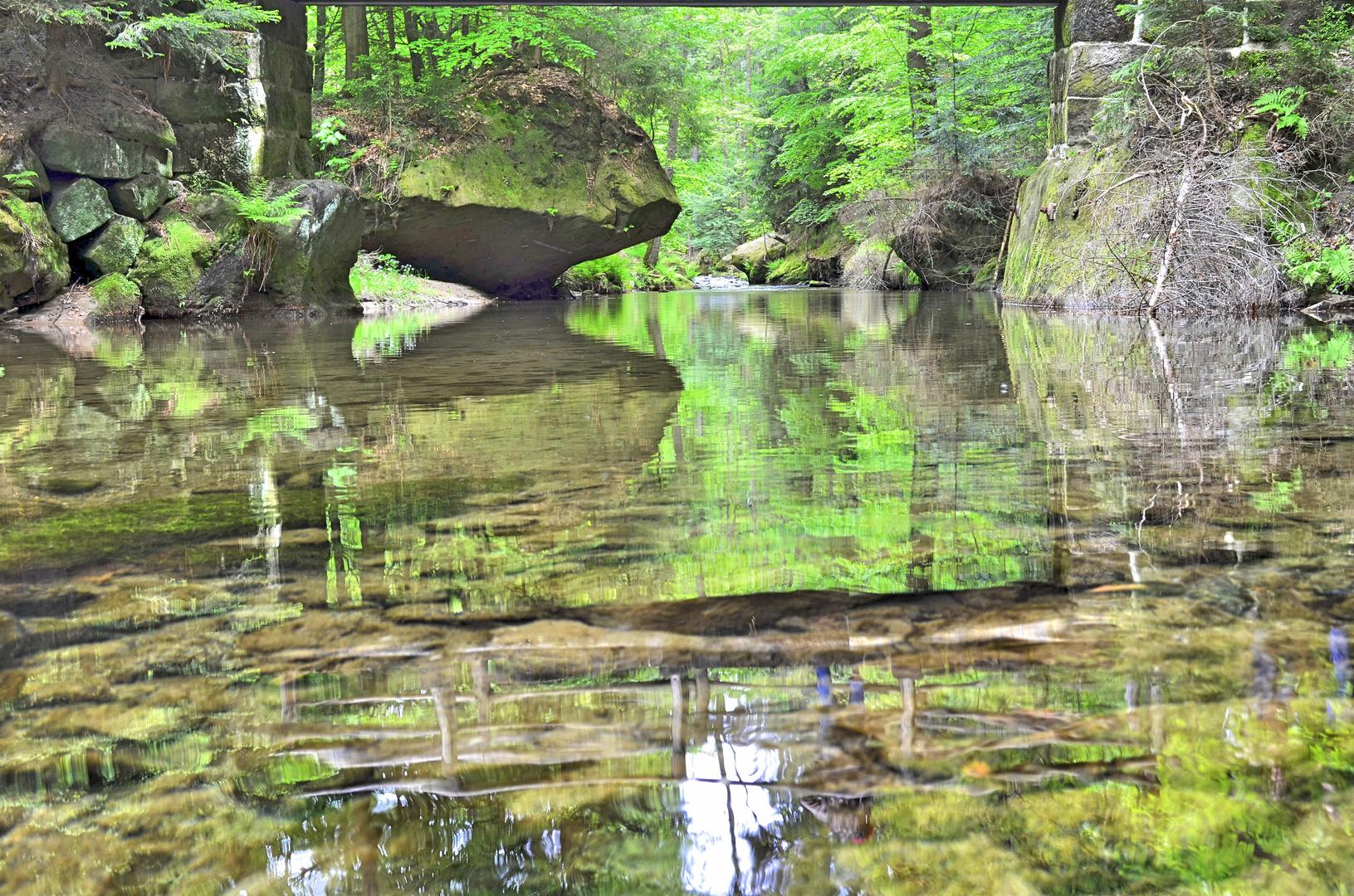 Naturschauspiel Kirnitzsch