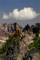 naturschloss mit gefakter wolke
