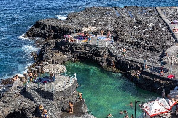Naturschwimmbecken El Charco Azul