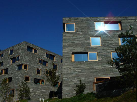 Naturstein-Neubauten