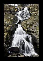 Naturwasserfall im Schwarzwald