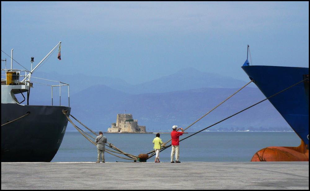 Nauplia - Die Festung in der Bucht