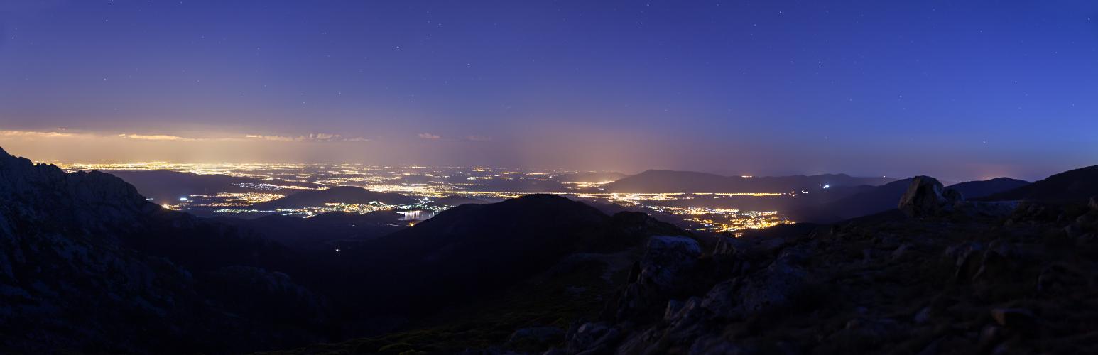 Navacerrada Night Pano