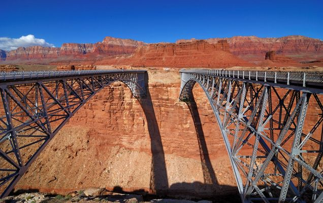 Navajo Bridges - Arizona/USA