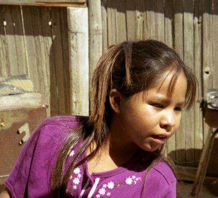 Navajo girl , take 2 , for Antonio