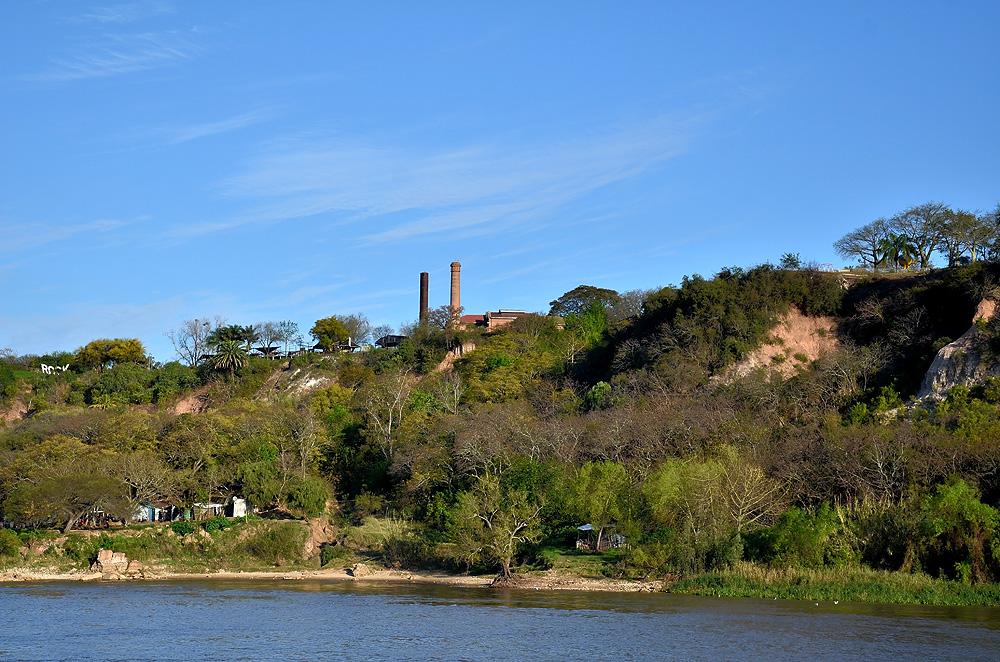 Navengando el Paraná