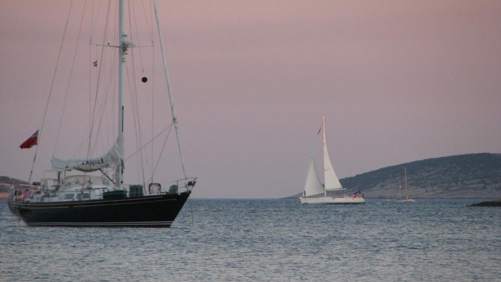 Navigando al tramomto