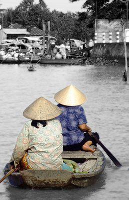 Naviguer sur le Mekong, Vietnam