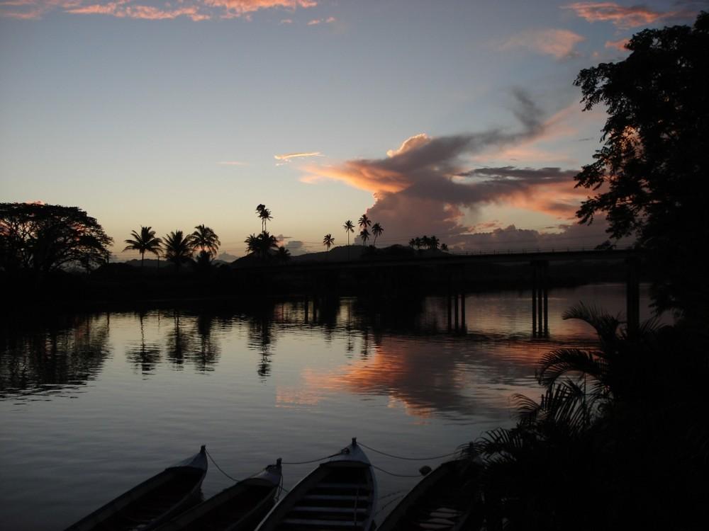 Navua sunset