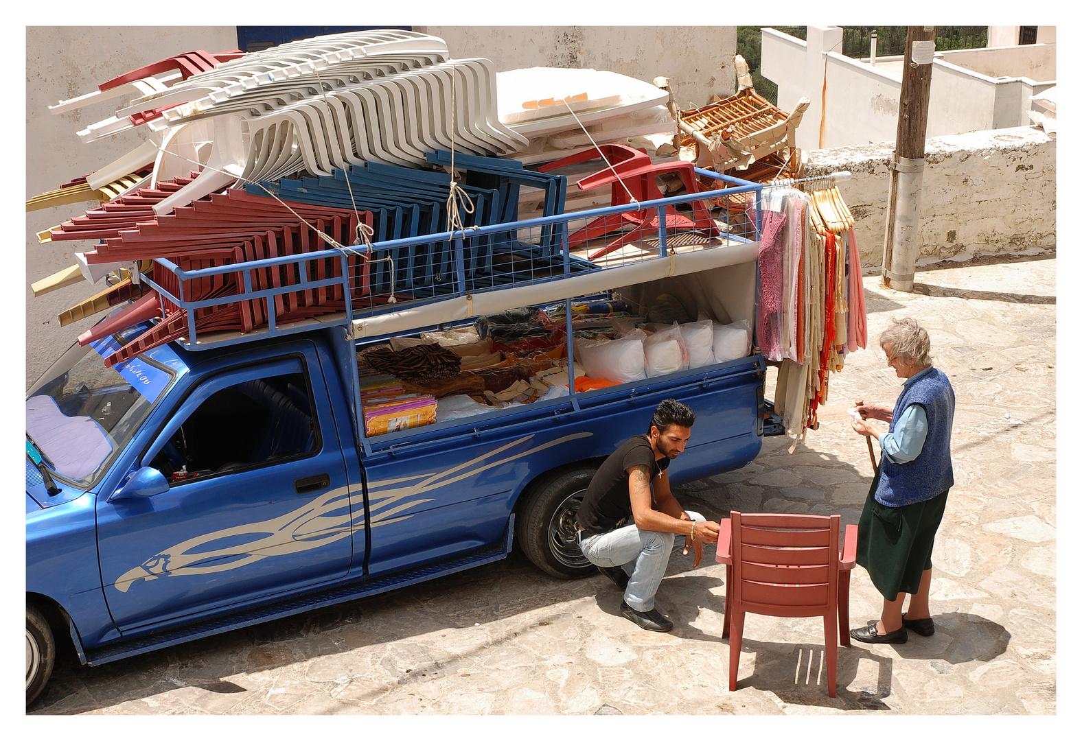 Naxos - Fahrender Händler