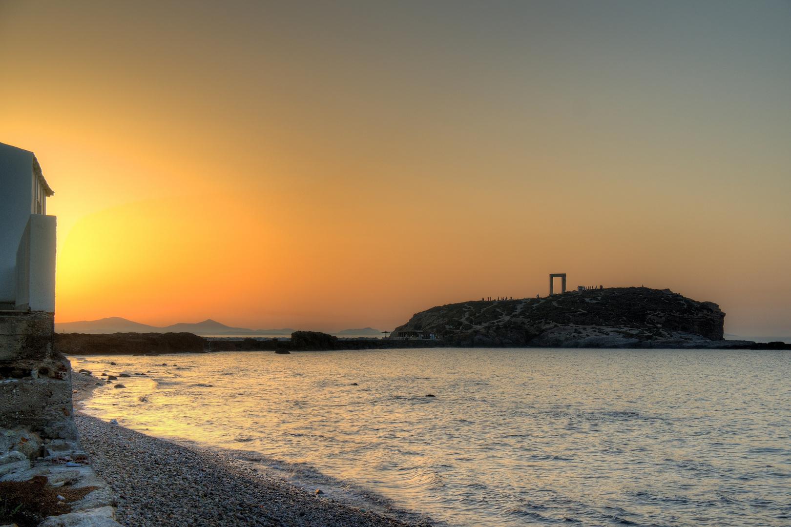 Naxos Portara, but far..
