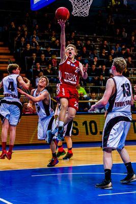 NBBL Young Dragons Quakenbrück (U16) gegen TSV Tröster Breitengüßbach (U16) 2/4