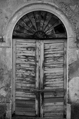 'ne alte Tür