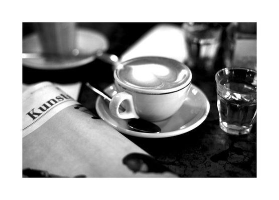 ne, cappuccino mit herz...