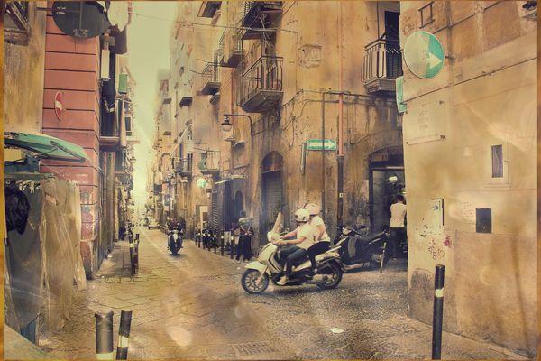 Neapel /Vico Della Tofa
