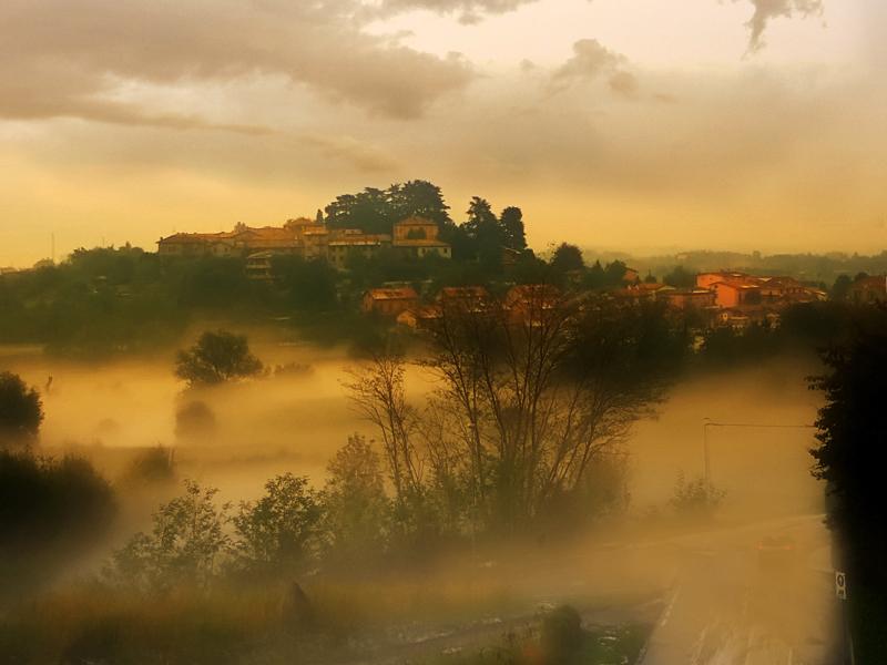 Nebbia bassa