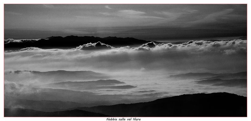 Nebbie sulla Val Nure . - cesari1947@virgilio.it