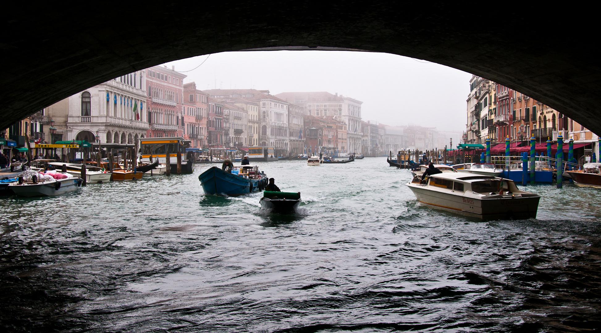 Nebel am Canale Grande