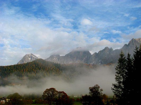 Nebel am Dachstein