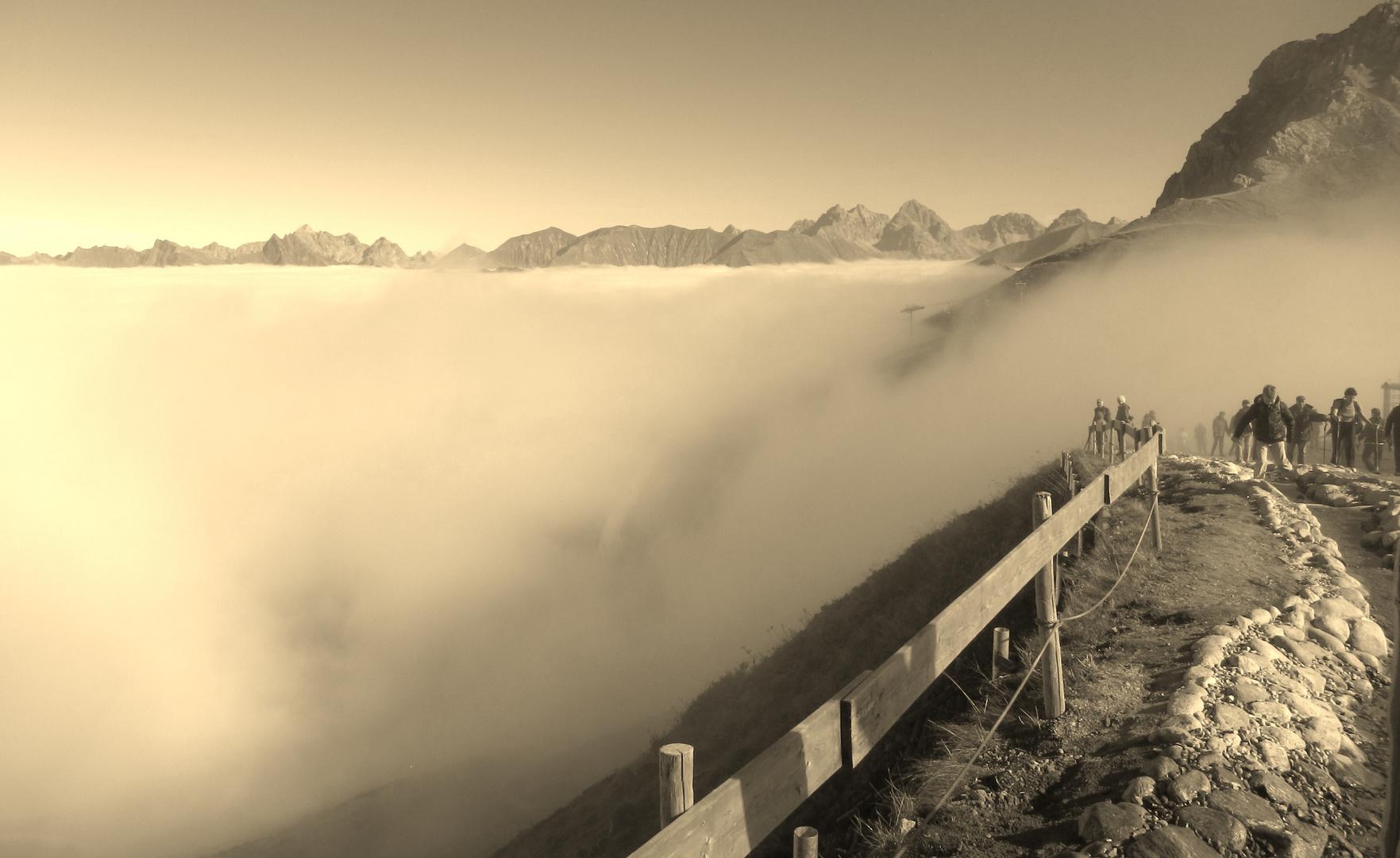 Nebel am Fellhorn