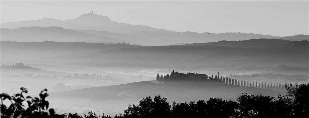 Nebel am Mt. Amiato