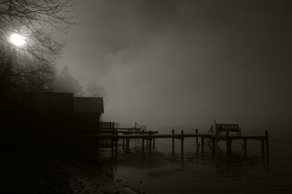 Nebel am Starnberger See