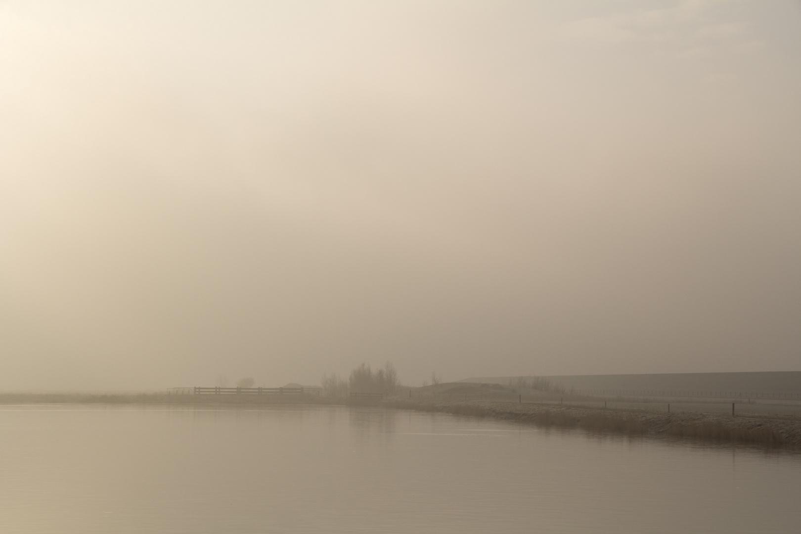 Nebel an den Pütten