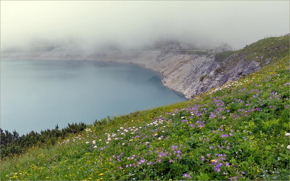 Nebel auch im Sommer