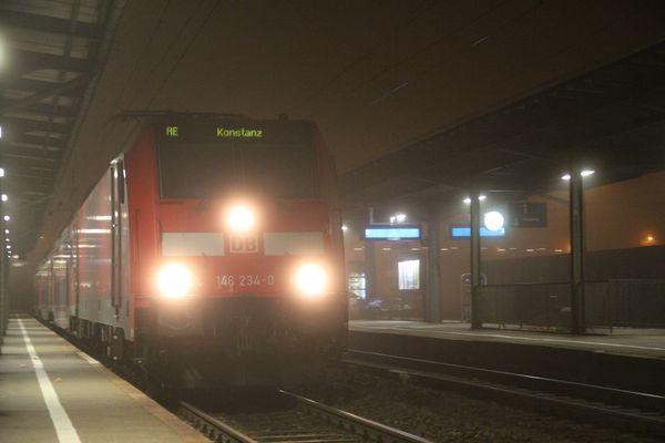 Nebel auf der Schwarzwaldbahn 2