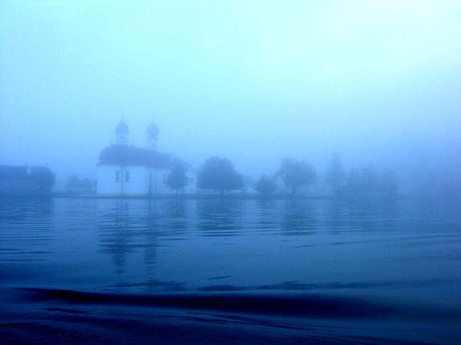 Nebel bei St. Bartholomä