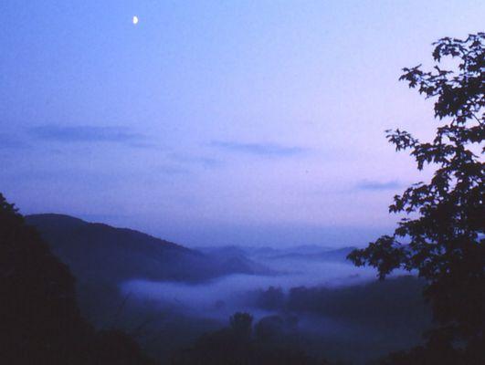 Nebel im Diemeltal